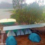 Pawna Lake Campsite location E